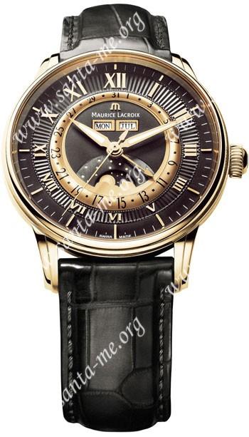 Maurice Lacroix Masterpiece Phase de Lune Mens Wristwatch MP6428-PG101-31E