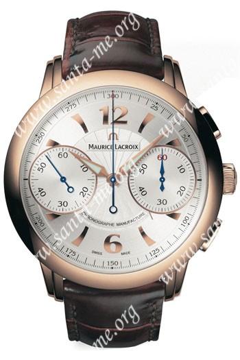 Maurice Lacroix Masterpiece Le Chronographe Mens Wristwatch MP7008-PG101-120