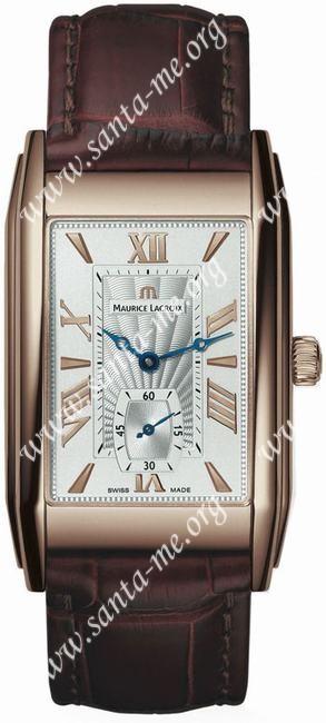 Maurice Lacroix Rectangulaire Petite Seconde Mens Wristwatch MP7009-PG101-110