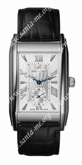 Maurice Lacroix Rectangulaire Petite Seconde Mens Wristwatch MP7009-SS001-110