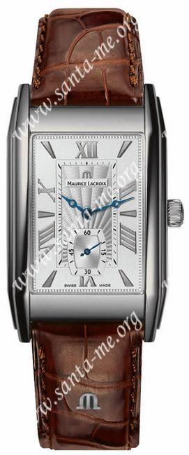 Maurice Lacroix Rectangulaire Petite Seconde Mens Wristwatch MP7009-SS001-110B
