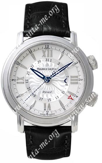 Maurice Lacroix Masterpiece Reveil Mens Wristwatch MP7118-SS001-110