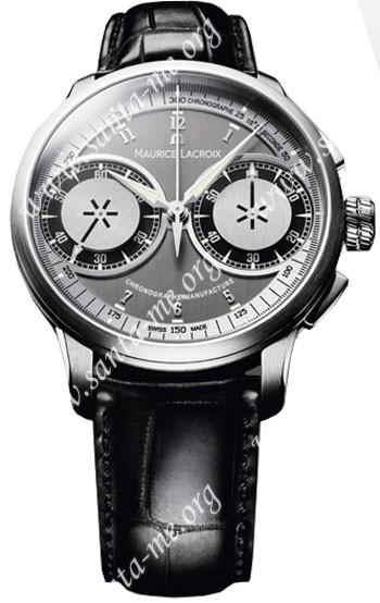 Maurice Lacroix Masterpiece Le Chronographe Mens Wristwatch MP7128-SS001-320