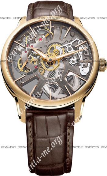 Maurice Lacroix Masterpiece Squelette Mens Wristwatch MP7138-PG101-030