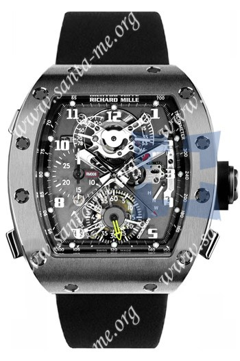 Richard Mille RM 008 Tourbillon Split Seconds Chronograph Mens Wristwatch RM008-V2-WG