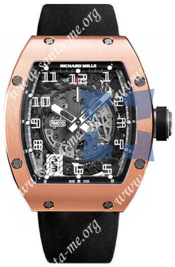 Richard Mille RM 010 Mens Wristwatch RM010-RG