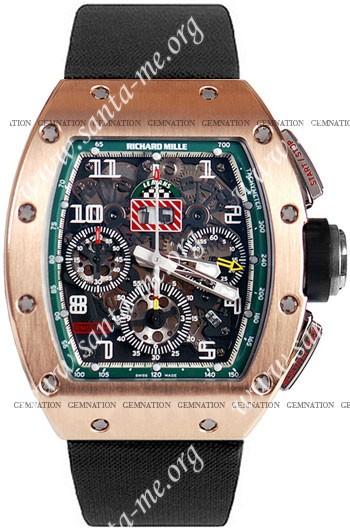 Richard Mille RM 011 Felipe Massa Flyback Chronograph Mens Wristwatch RM011-RG