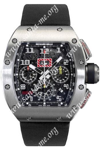 Richard Mille RM 011 Felipe Massa Flyback Chronograph Mens Wristwatch RM011-Ti