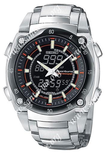 Seiko  Mens Wristwatch SNJ019