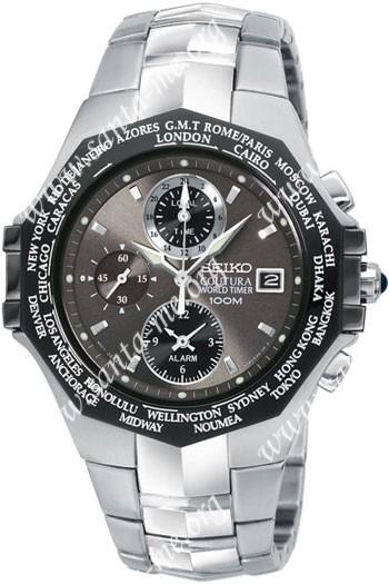 Seiko  Mens Wristwatch SPL001