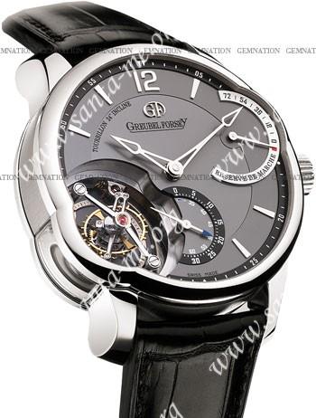 Greubel Forsey Tourbillon 24 Seconds Incline Mens Wristwatch T24Si