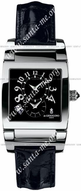 DeGrisogono Instrumento No. Uno Mens Wristwatch UNO-DF-N07