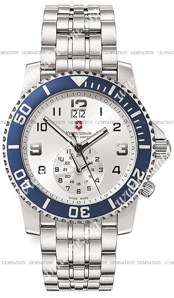 Swiss Army Maverick II Dual Time Mens Wristwatch V251183