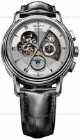 Zenith Chronomaster Open Grande Date Moonphase Mens Wristwatch 03.1260.4047-02.C505