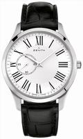 Zenith Elite Heritage Ultra Thin Mens Wristwatch 03.2010.681-11.C493