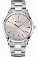 Zenith Elite Captain Central Second Mens Wristwatch 03.2020.670-01.M2020