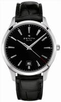 Zenith Elite Captain Central Second Mens Wristwatch 03.2020.670-21.C493