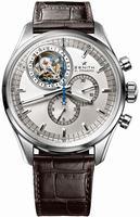 Zenith El Primero Tourbillon Chronograph Mens Wristwatch 03.2050.4035-01.C631