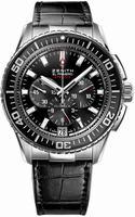 Zenith El Primero Stratos Flyback Mens Wristwatch 03.2060.405-21.C714
