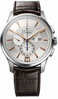 Zenith El Primero Captain Windsor Chronograph Mens Wristwatch 03.2070.4054-02.C711