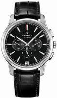 Zenith Captain Chronograph Mens Wristwatch 03.2110.400-22.C493