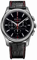 Zenith El Primero Captain Chronograph Mens Wristwatch 03.2115.400-21.C703