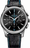 Zenith Captain Chronograph Mens Wristwatch 03.2119.400-22.C720