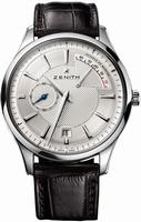 Zenith Elite Captain Power Reserve Mens Wristwatch 03.2120.685-02.C498