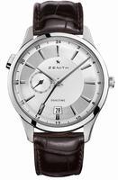 Zenith Elite Captain Dual Time Mens Wristwatch 03.2130.682-02.C498