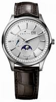 Zenith Elite Captain Moonphase Mens Wristwatch 03.2140.691-02.C498