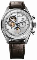 Zenith Chronomaster Open Grande Date Moonphase Mens Wristwatch 03.2160.4047-01.C713