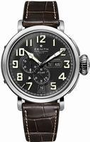 Zenith Pilot Montre d Aeronef Zenith Type 20 Annual Calendar Mens Wristwatch 03.2430.4054-21.C721