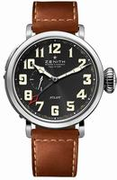 Zenith Pilot Montre d Aeronef Zenith Type 20 GMT Mens Wristwatch 03.2430.693-21.C723