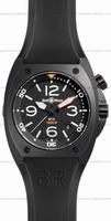 Bell & Ross BR 02-92 Carbon Mens Wristwatch BR02-CA-FINISH