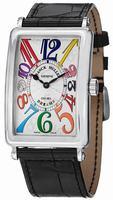 Franck Muller Long Island Ladies Wristwatch 1002QZCOLDRMSS