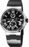 Ulysse Nardin Marine Chronometer Manufacture Mens Wristwatch 1183-122-3-42