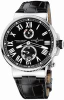 Ulysse Nardin Marine Chronometer Manufacture Mens Wristwatch 1183-122-42