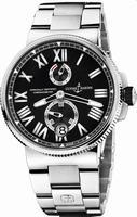 Ulysse Nardin Marine Chronometer Manufacture Mens Wristwatch 1183-122-7-42