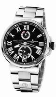 Ulysse Nardin Marine Chronometer Manufacture Mens Wristwatch 1183-122-7M/42
