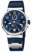 Ulysse Nardin Marine Chronometer Manufacture 43mm Mens Wristwatch 1183-126-3.63