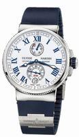 Ulysse Nardin Marine Chronometer Manufacture Mens Wristwatch 1183-126-3/40