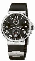 Ulysse Nardin Marine Chronometer Manufacture Mens Wristwatch 1183-126-3/42