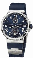 Ulysse Nardin Marine Chronometer Manufacture Mens Wristwatch 1183-126-3/43