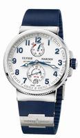 Ulysse Nardin Marine Chronometer Manufacture Mens Wristwatch 1183-126-3/60