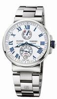 Ulysse Nardin Marine Chronometer Manufacture Mens Wristwatch 1183-126-7M/40