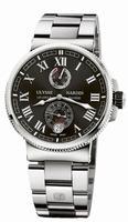 Ulysse Nardin Marine Chronometer Manufacture Mens Wristwatch 1183-126-7M/42
