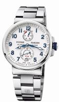 Ulysse Nardin Marine Chronometer Manufacture Mens Wristwatch 1183-126-7M/60