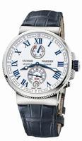 Ulysse Nardin Marine Chronometer Manufacture Mens Wristwatch 1183-126/40