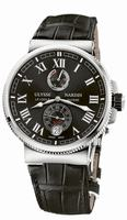 Ulysse Nardin Marine Chronometer Manufacture Mens Wristwatch 1183-126/42