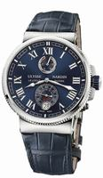 Ulysse Nardin Marine Chronometer Manufacture Mens Wristwatch 1183-126/43